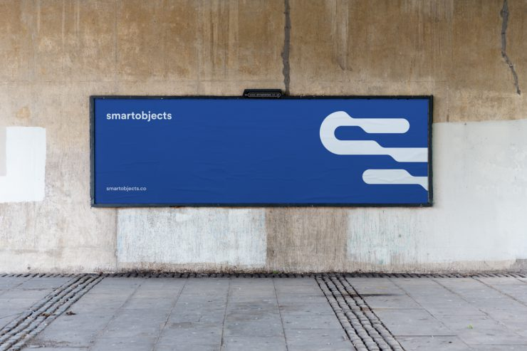 Smart Objects billboard mockup
