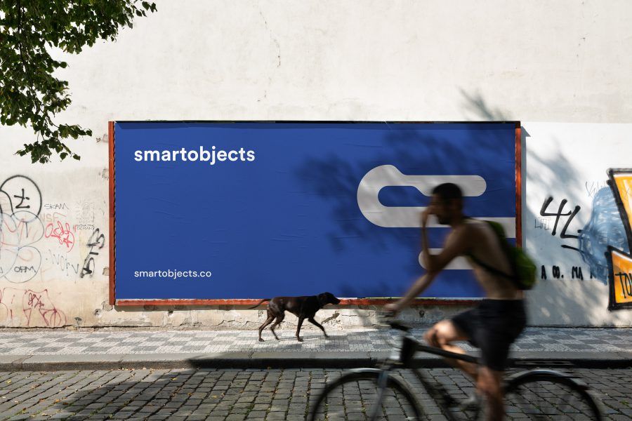 Smart Objects Billboard 07 Blue