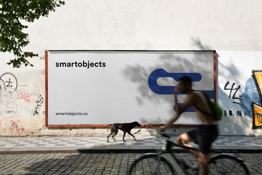Smart Objects Billboard 07 White 2