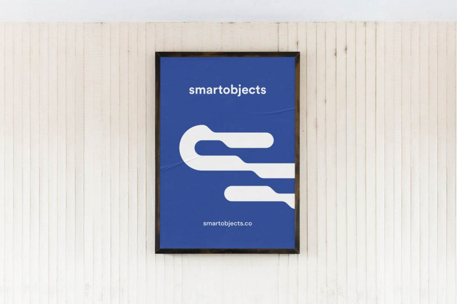 Smart Objects City Poster 03 Blue 1 4