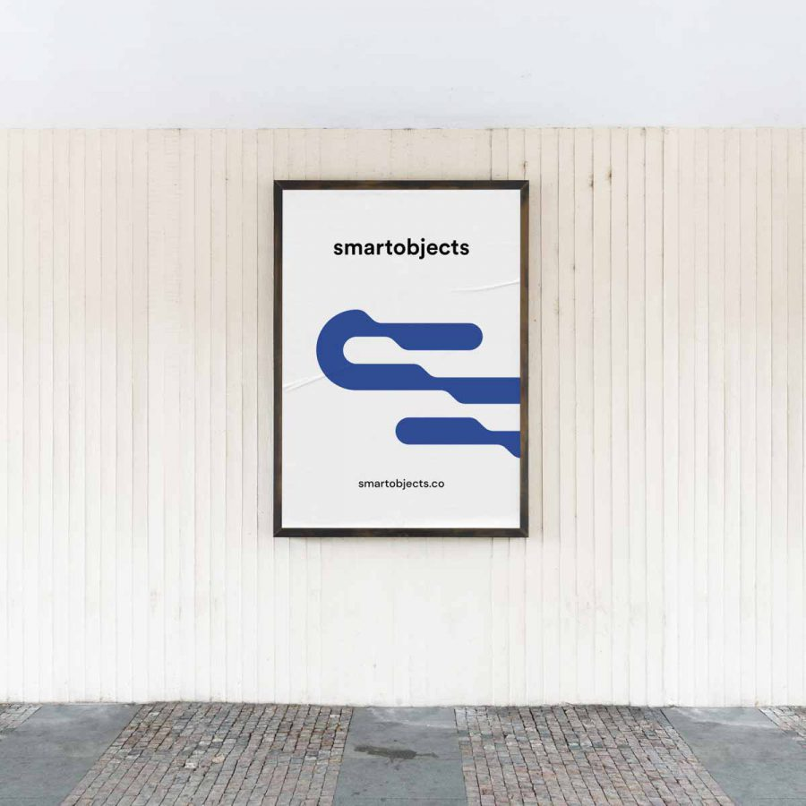 Smart Objects City Poster 03 White 2 2