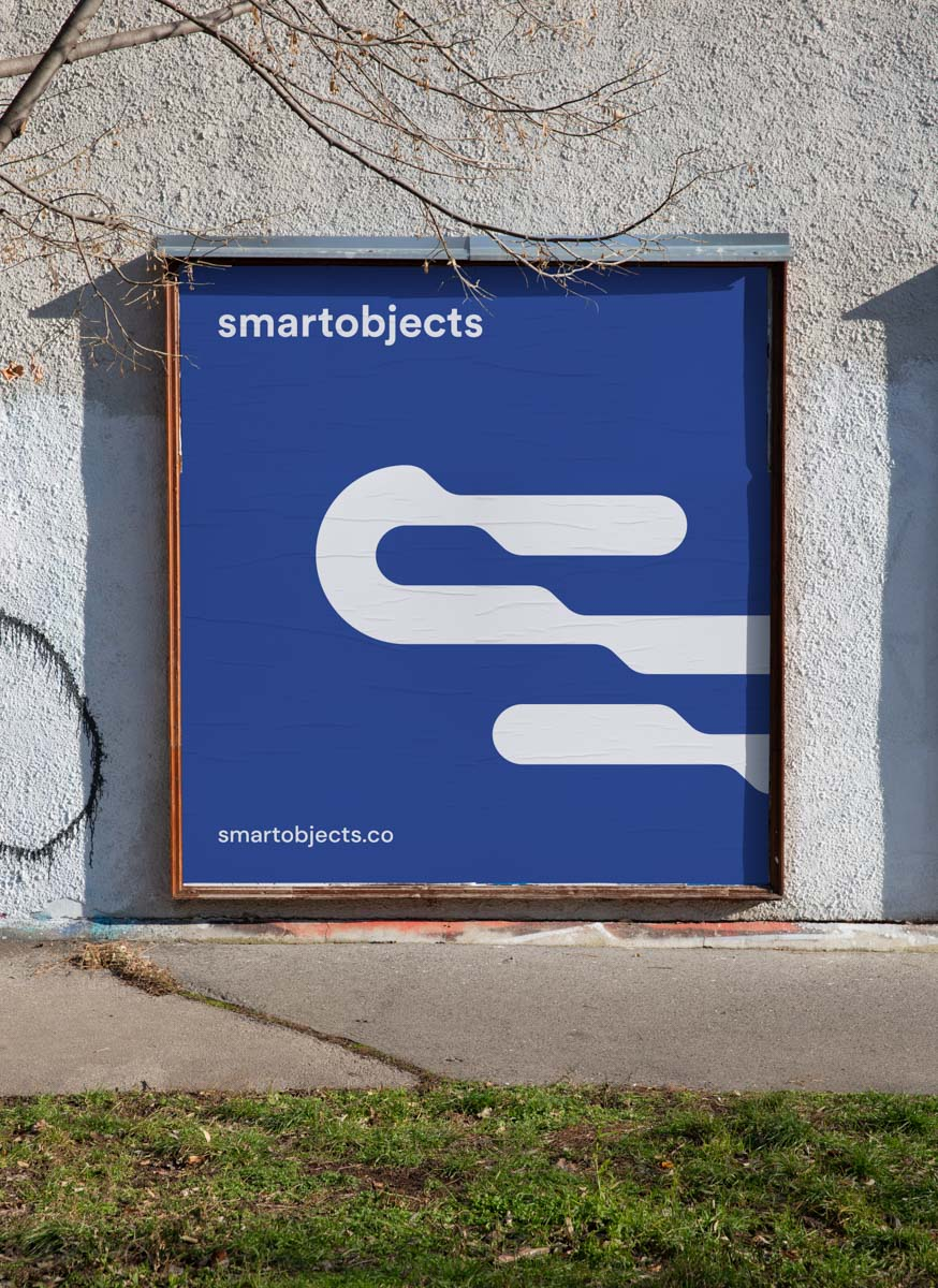 Smart Objects Billboard 13 Blue v2