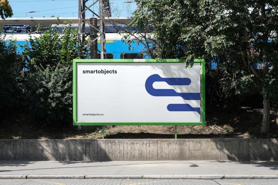 Smart Objects Billboard 14 White 2