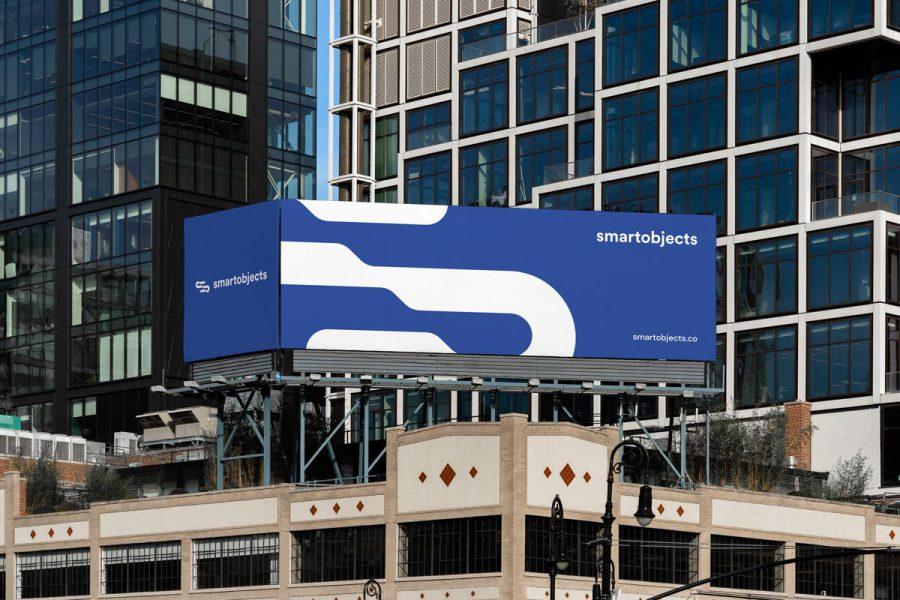 Smart Objects Billboard 15 Blue
