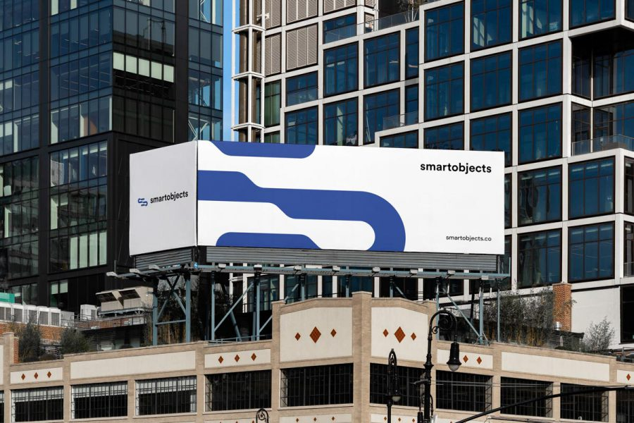 Smart Objects Billboard 15 White