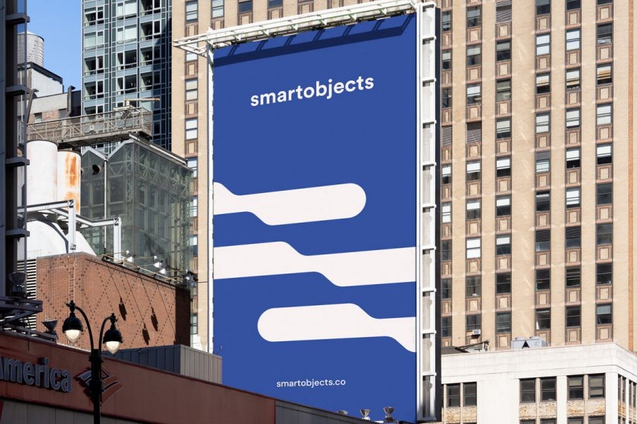 Smart Objects Billboard 16 Blue 3