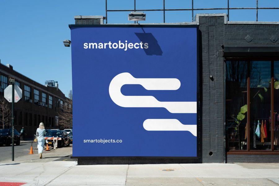 Smart Objects Billboard 17 Blue
