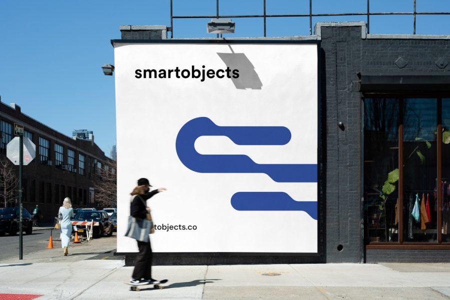 Smart Objects Billboard 17 White