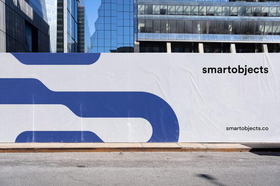 Smart Objects Hoarding 03 White