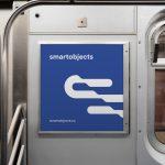metro sign mockup