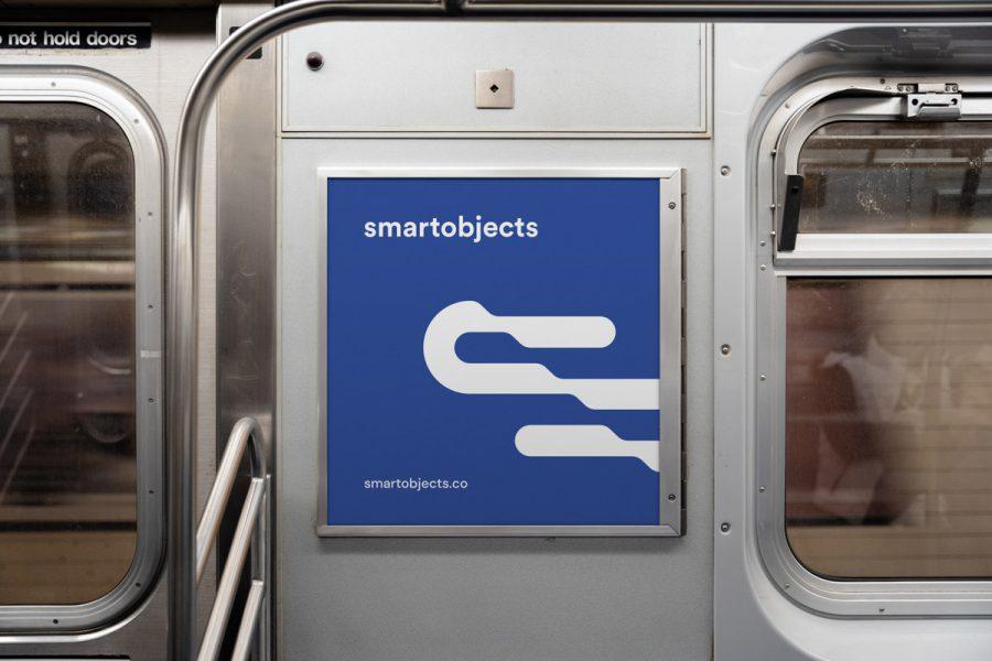 Smart Objects Train Panel 01 Blue 1
