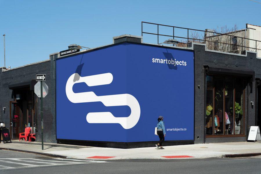 Smart Objects Billboard 18 Blue