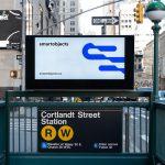 new york metro digital lightbox mockup