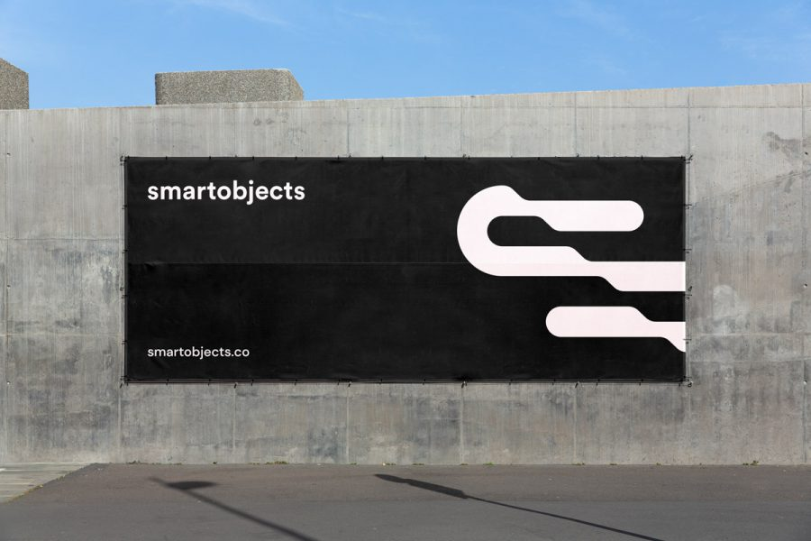 Smart Objects Vinyl Banner 02 Black 1