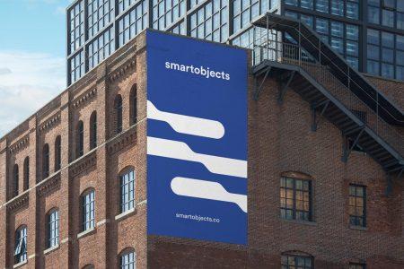 Smart Objects Wall 02 Blue 3