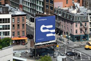 Smart Objects Billboard 20 Blue