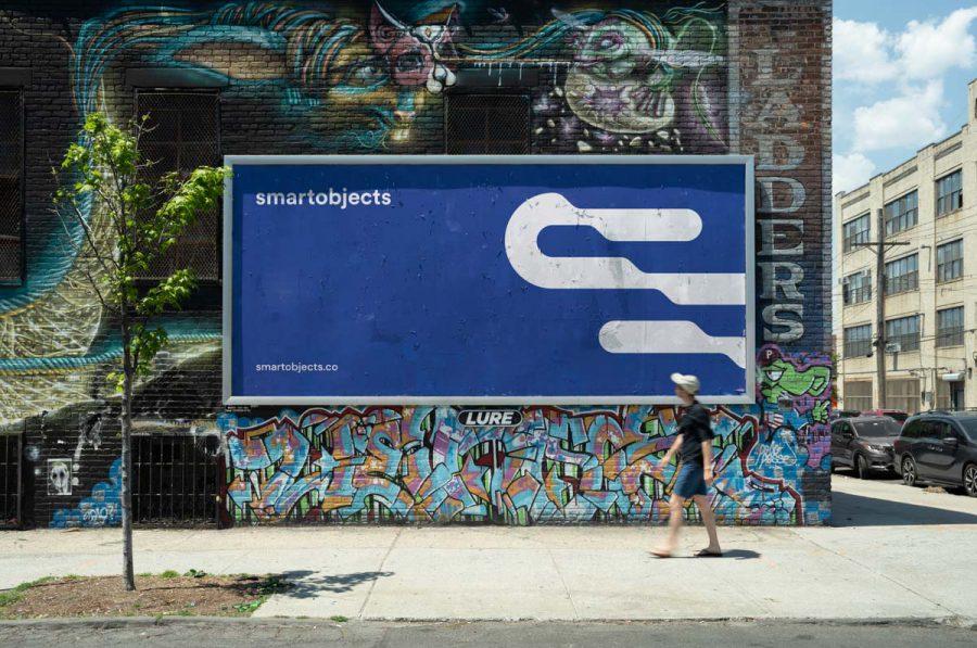 Smart Objects Billboard 23 Blue