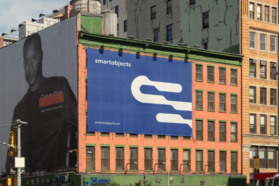 Smart Objects Billboard 24 Blue