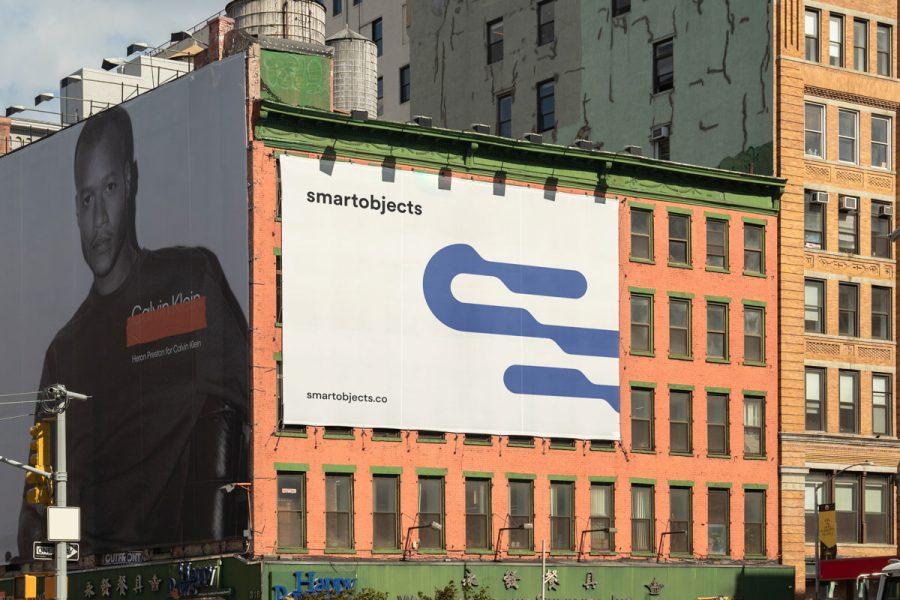 Smart Objects Billboard 24 White