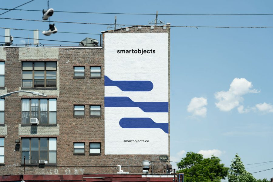 Smart Objects Brick Wall 02 White