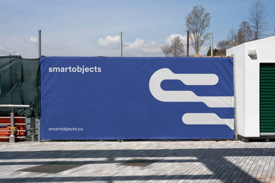Smart Objects Heras Banner 01 Blue