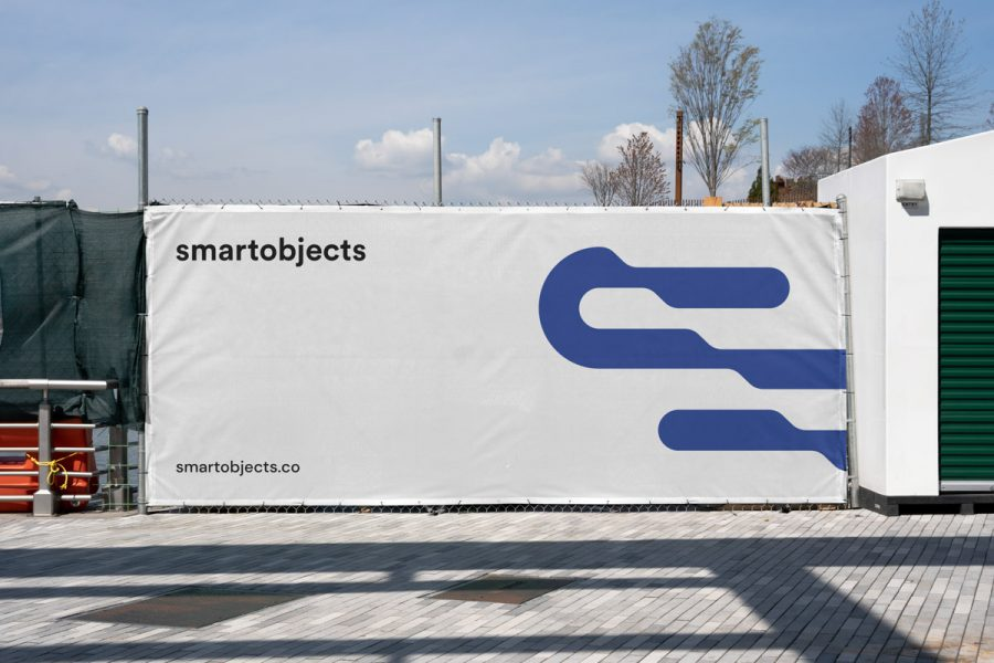 Smart Objects Heras Banner 01 White