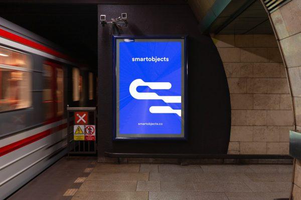 metro lightbox mockup